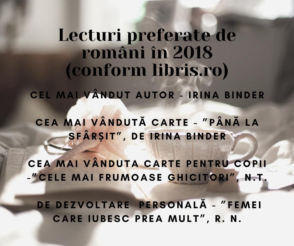 lecturi preferate 2018 libris.ro