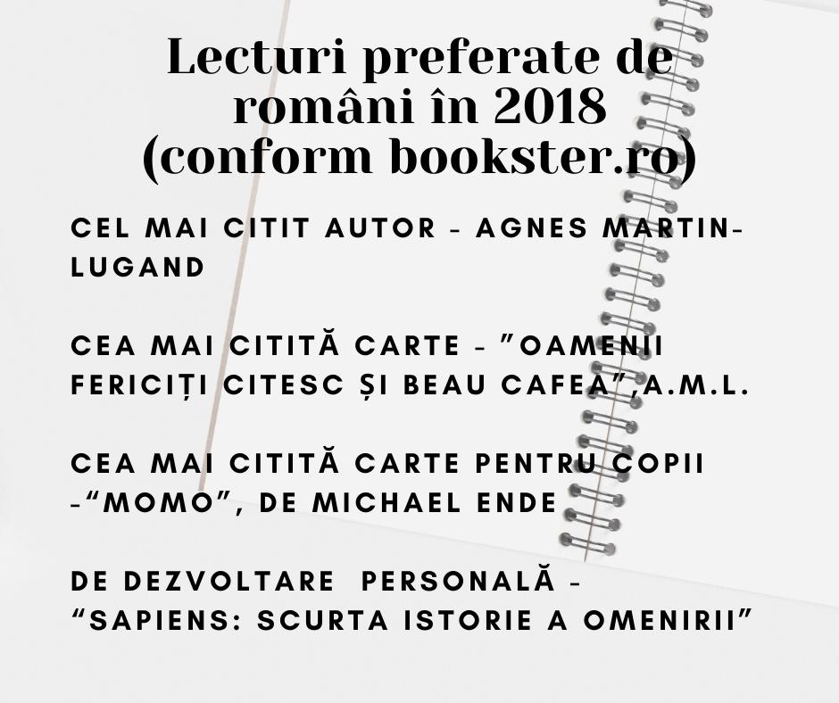 lecturi preferate 2018 bookster